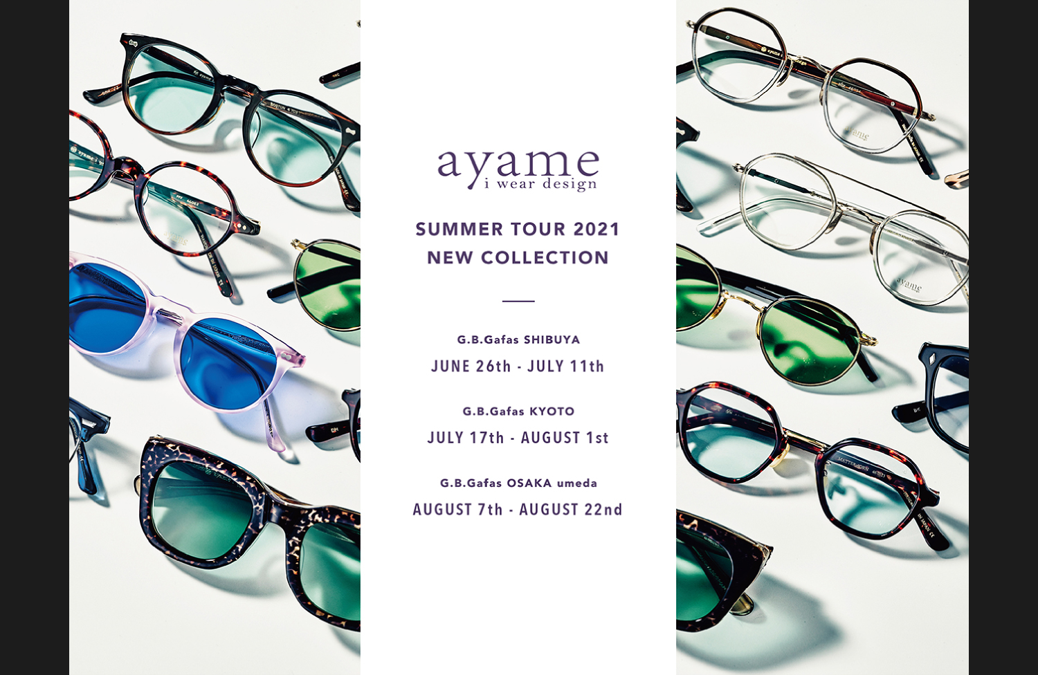 ayame SUMMER TOUR 2021 NEW COLLECTION